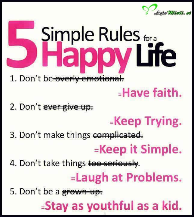 Za srečno žeivljenje