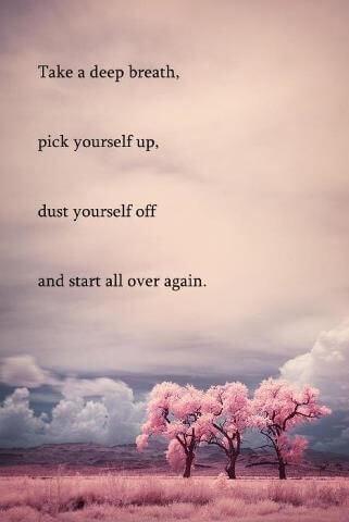Ne obupaj, začni znova