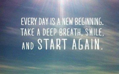 Nov dan, nov začetek