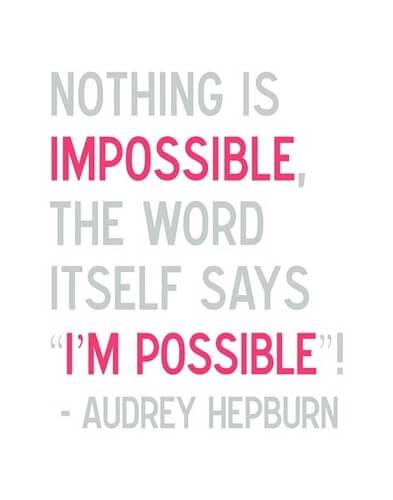 Nemogoče? Mogoče!